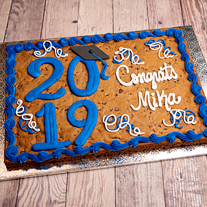 Grad Year Cookie Cake