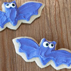 Bat Cut-Out Cookie