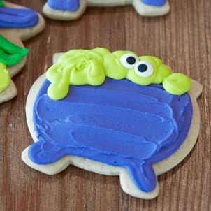 Cauldron Cut-Out Cookie