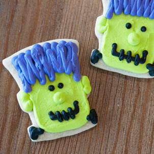 Frankenstein Cut-Out Cookie