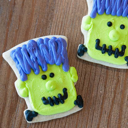 Frankenstein Cut-Out Cookie