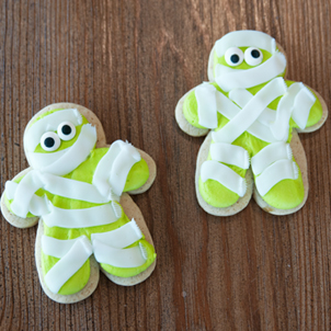 Mummy Cut-Out Cookie