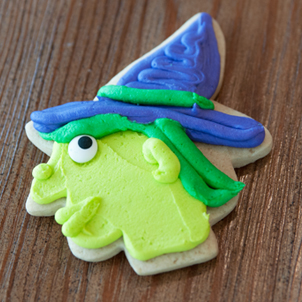 Witch Cut-Out Cookie