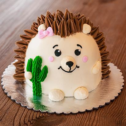 Decorating Class- Hedgehog Cake