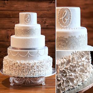 MaeBelle Wedding Cake
