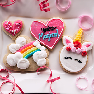 Valentine Cookie Set- You're Magical