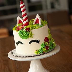 Decorating Class- Merry the Unicorn Cake
