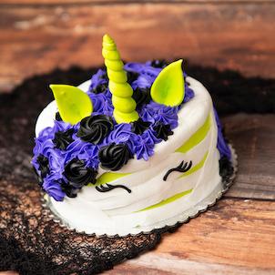 Mummy Unicorn Cake