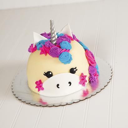 Neon Unicorn Cake