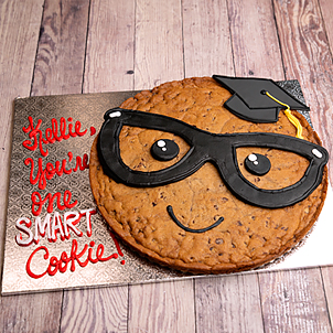 "One Smart Cookie- 8"" Round"