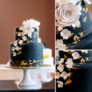 Onyx Wedding Cake