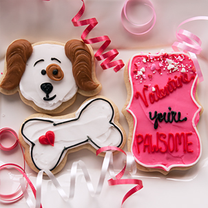 Valentine Cookie Set- You're Pawsome