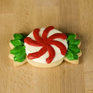 Peppermint Cut-Out Cookie