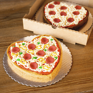 Pizza My Heart Cookie Cake