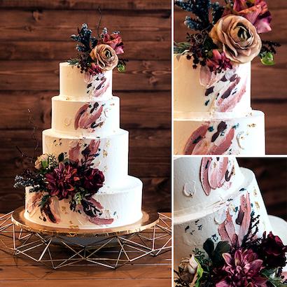 Ross Wedding Cake
