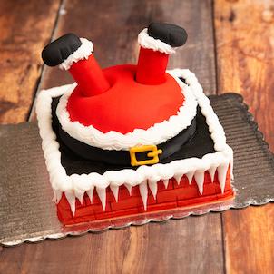 Silly Santa Cake- Dec. 4th