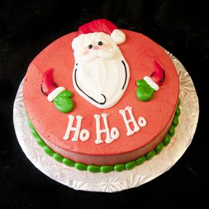 "Santa - 6"" Double Round"