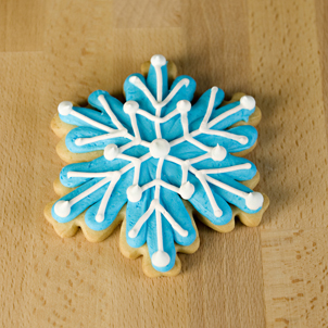 Snowflake Extra Large Cut-Out Cookie