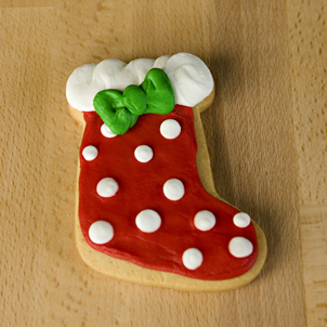 Stocking Cut-Out Cookie