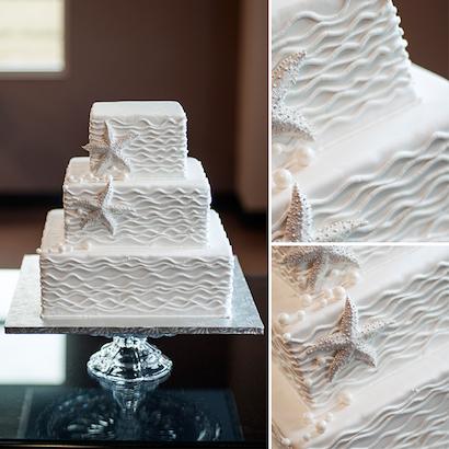 Sunny Wedding Cake