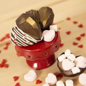 Heart Cocoa Bomb