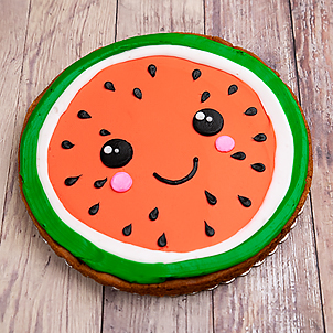 Decorating Class- Watermelon Cookie Cake