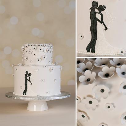 Zinnia Wedding Cake