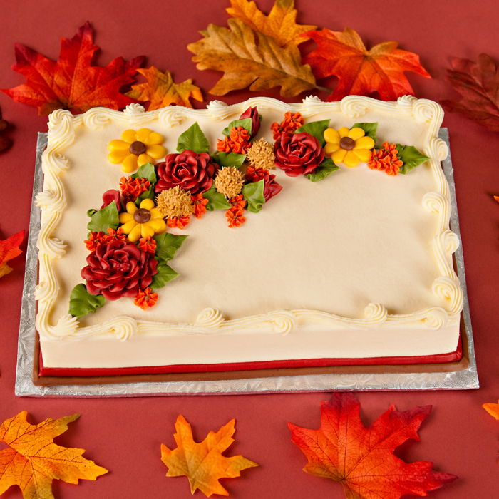 Fall cakes for Autumn cake decoration