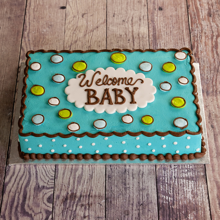 baby shower sheet cakes for boy