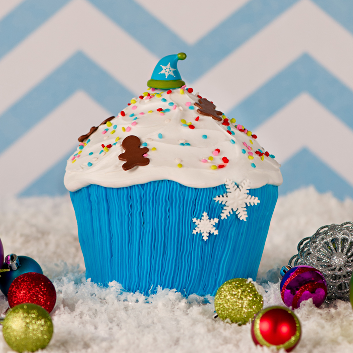 Baby It's Cold 3D Cupcake