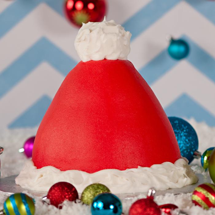3D Santa hat Cake