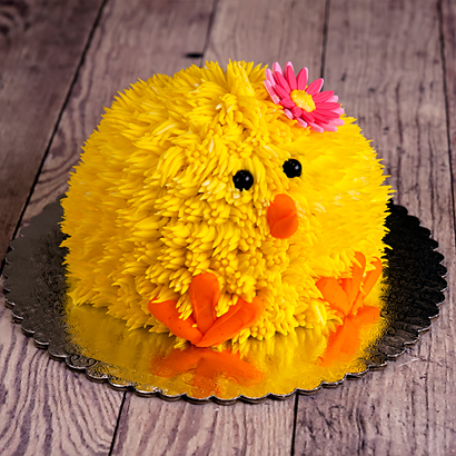 Easter Chick Cake