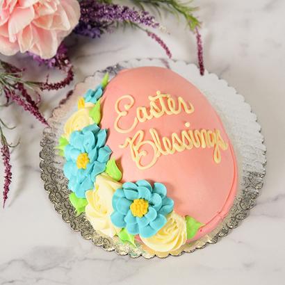 Easter Blessings Egg Cake