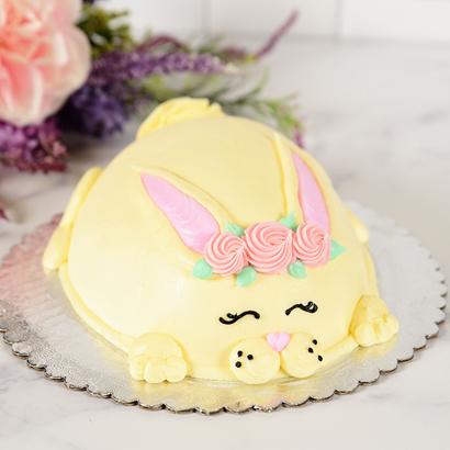 Sleepy Bunny Cake