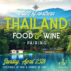 A Taste of Northern Thailand Food & Wine Pairing Event